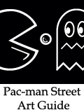 Pac Man Street art guide